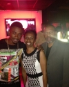 Christopher Martin with Carol & Derrick Francis @ Registry 2013